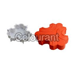 Galaxy Shaped Silicone Plastic Interlocking Paver Moulds