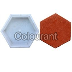 Hexa Shaped Silicone Plastic Interlocking Paver Moulds