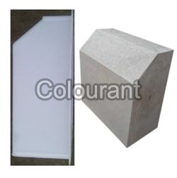 Silicone Plastic Kerb Stone Chamfered Moulds