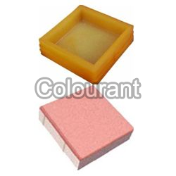 Rubberised PVC Block Bricks Moulds
