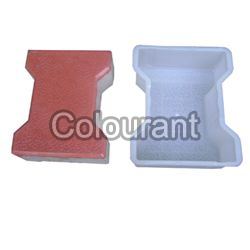 I Section Shaped Silicone Plastic Interlocking Paver Moulds