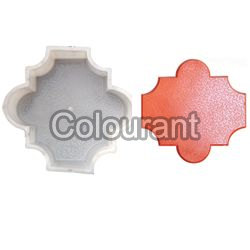 Taurus Shaped Silicone Plastic Interlocking Paver Moulds