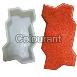 Zigzag Shaped Silicone Plastic Interlocking Paver Moulds