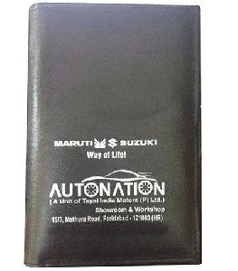 Car Document PU Leather Pouch