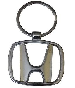 Honda Logo Metal Keychain