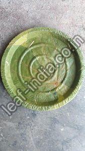 6 Inch Leaf Round Plate