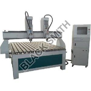 CNC Double Head Wood Carving Machine