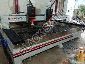 CNC Double Head Stone Carving Machine