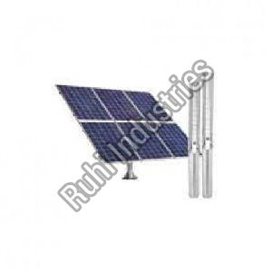 Solar Submersible Borewell Pump
