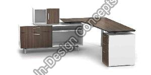Executive Table with Drawer