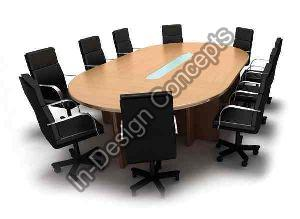 Oval Conference Table