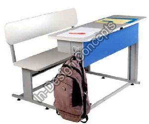 School Desk with Storage