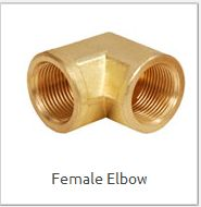 Brass Female Elbow