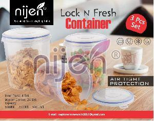 Lock N Fresh 3pcs. Container Set (5000ML - 7000ML - 10000ML)