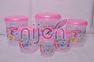 Store King Container Set (6 Pcs.) (1000ML - 2000ML - 3000ML - 5000ML - 7000ML - 10000ML)