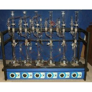Kjeldhal Digestion Distillation Unit