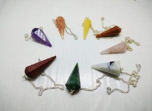 Agate Chakra Pendulum