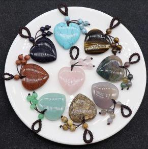 Crystal Heart Pendant