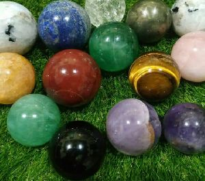 Mix Stone Sphere