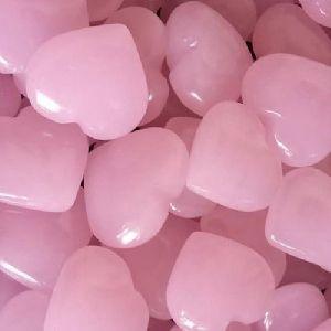 Rose Quartz Heart Stone