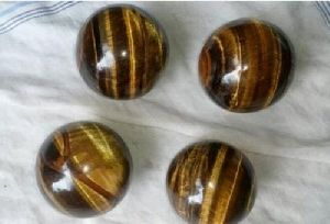 Tiger Eye Gemstone Ball