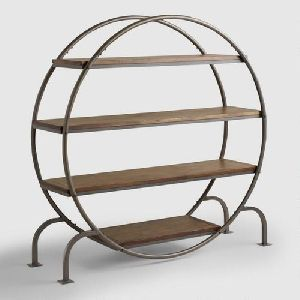 Round Wooden Shelf