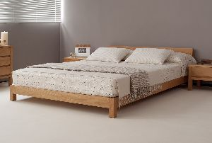 Wooden Contemporary Bed