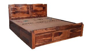 Wooden Queen Size Bed