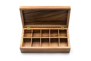 Wooden Spice Boxes
