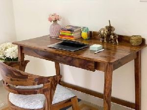 Wooden Study Table & Chair Set