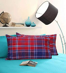 Checkered Pillow Cover