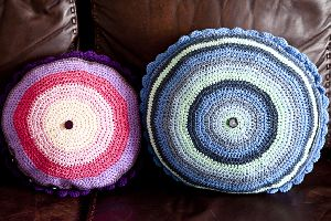 Circular Cushion Covers