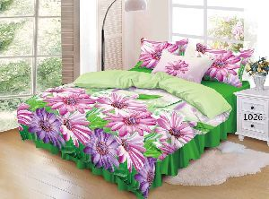 Cotton Double Bed Sheet Set