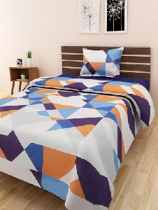Cotton Single Bed Sheet Set