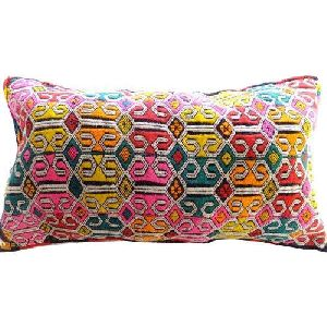 Embroidered Pillow Covers