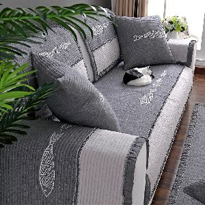 Embroidered Sofa Cover