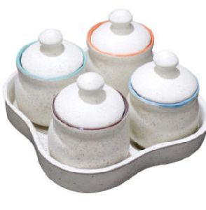 Ceramic Pickle Set