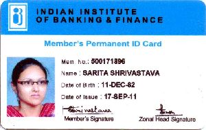 Pvc Employee Id Card