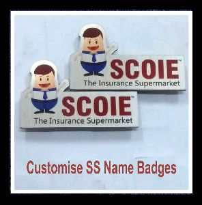 SS Name Badge