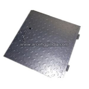 Chequered Plate Manhole Cover