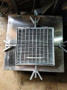 Galvanized Grating Manhole Cover