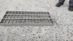 Glass Bead Blasted Stainless Steel Gratings