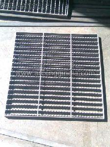 Serrated Anti Skid Mild Steel Gratings