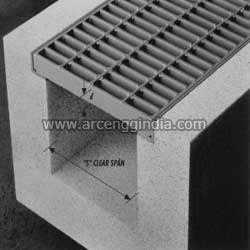 Trench Mild Steel Gratings