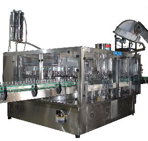 Automatic Monoblock Filling Cum Rotary Cap Sealing Machine,( 40 x 10 )