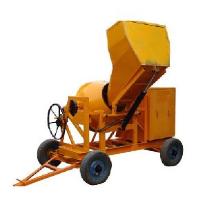 Clutch Type Concrete Mixer Machine