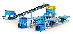 Rubber Tiles Making Machine