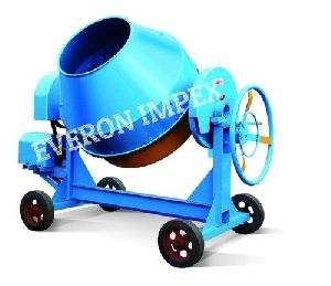 Semi Automatic Concrete Mixer Machine