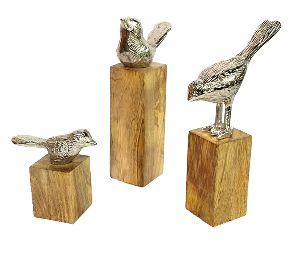 Birds 3 Set Sculpture