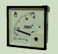 AC Analogue Voltmeter and Ammeter